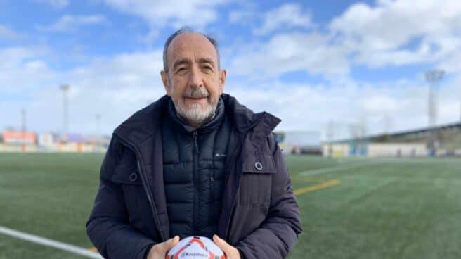 Paco Díez, en una imagen colgada por la federación madrileña en redes sociales