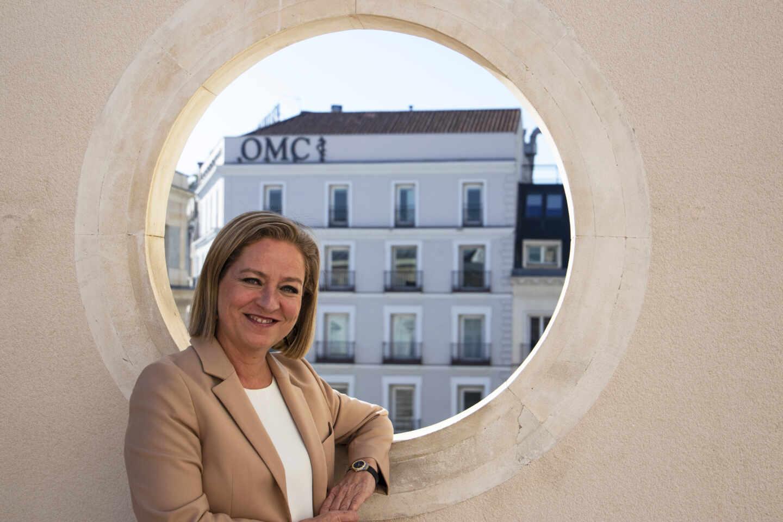 Ana Oramas, en uno de los pasillos del Congreso de los Diputados