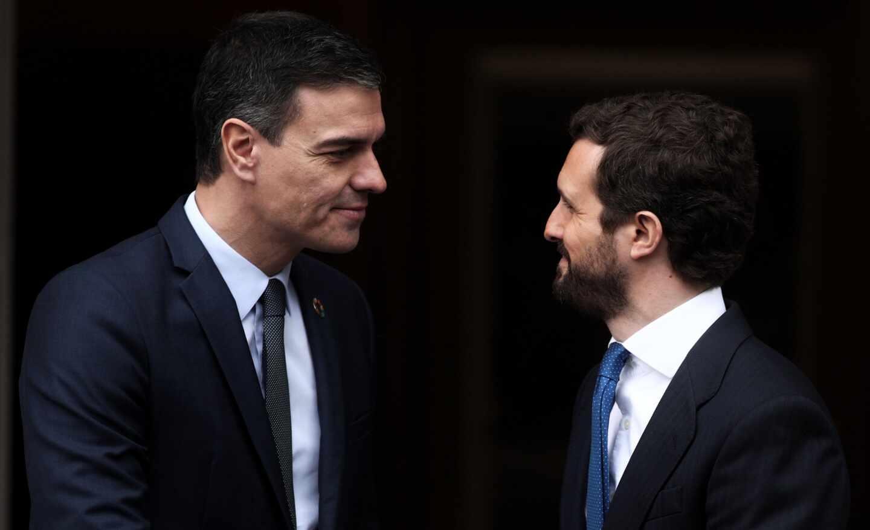 Sánchez y Casado se reunirán el próximo 2 de septiembre en Moncloa