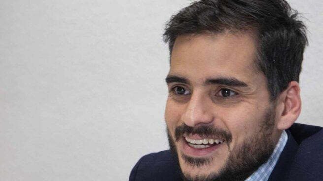 Armando Armas, durante una entrevista con El Independiente