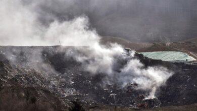 Salud alerta ahora del riesgo por la mala calidad del aire en el entorno de Zaldibar