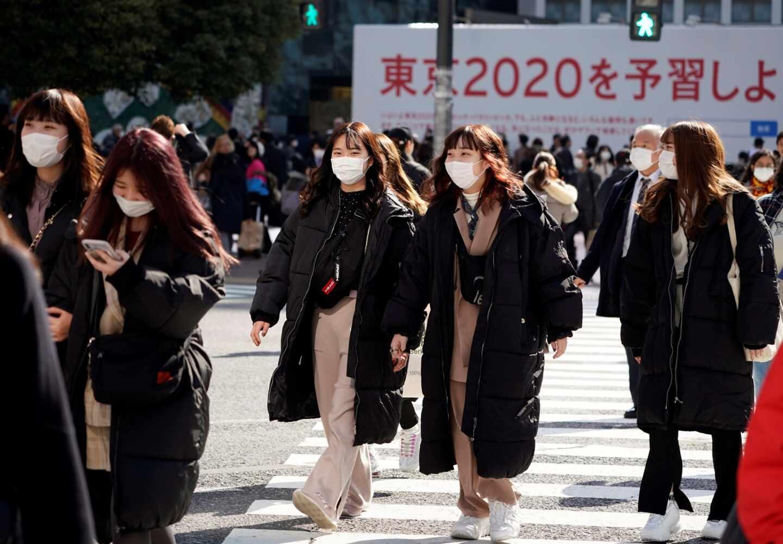 El coronavirus inquieta a Japón y al futuro de los Juegos Olímpicos de Tokio