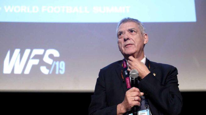 Ángel María Villar, ex presidente de la RFEF y principal investigado del 'caso Soule'.