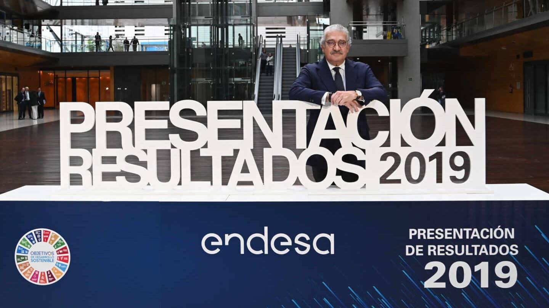 El consejero delegado de Endesa, José Bogas.