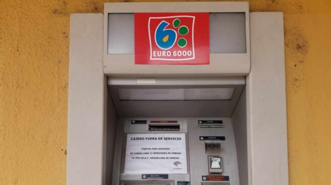 Un cajero de la red Euro 6000