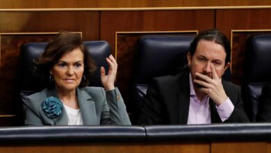 Calvo e Iglesias intentan restañar heridas con una iniciativa conjunta para frenar desahucios