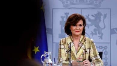 """Calvo insiste en las posiciones """"antagónicas"""" de la """"mesa de diálogo"""" con Torra"""