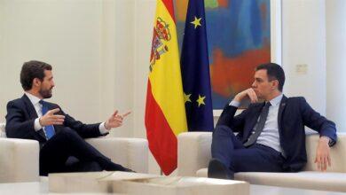 Sánchez y Casado no llegan a ningún acuerdo tras 45 minutos de conversación sobre el CGPJ