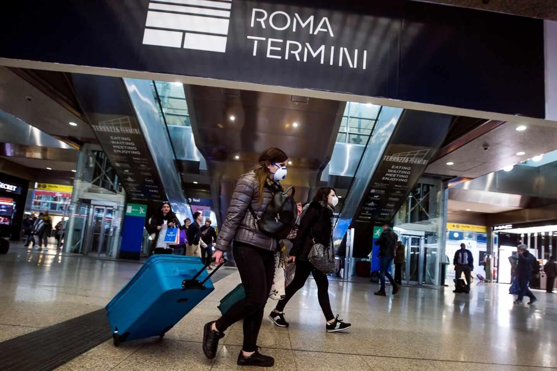 Viajeros Italia coronavirus