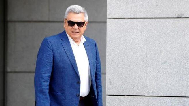 Julio Corrochano, tras declarar en la Audiencia Nacional como investigado en el 'caso Villarejo'.