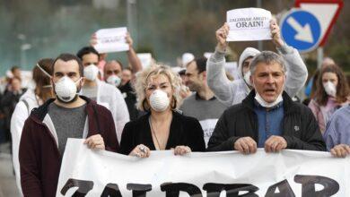 """Urkullu responde a los familiares de los sepultados en Zaldibar que """"no se escatiman medios"""""""