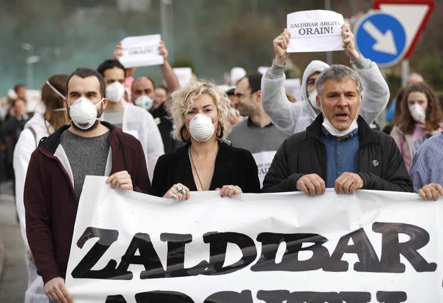 Zaldibar, 100 días sin duelo