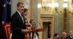 """Felipe VI: """"Las Cortes representan a todo el pueblo español, y a todo él se deben"""""""