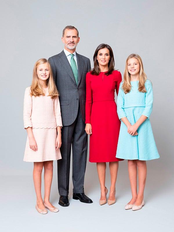 Familia real retrato 2020