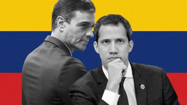 Sánchez y Guaidó
