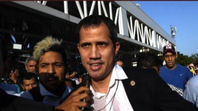 """Juan Guaidó, agredido a su regreso a Caracas: """"Nunca la dictadura estuvo tan sola"""""""