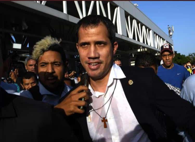 Guaidó en Caracas