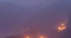 Canarias pide el apoyo de la UME para sofocar el incendio de Tasarte