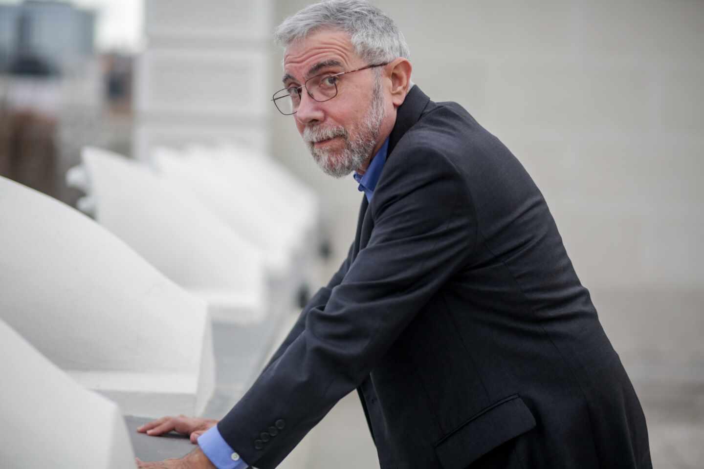 Paul Krugman, premio Nobel de Economía.