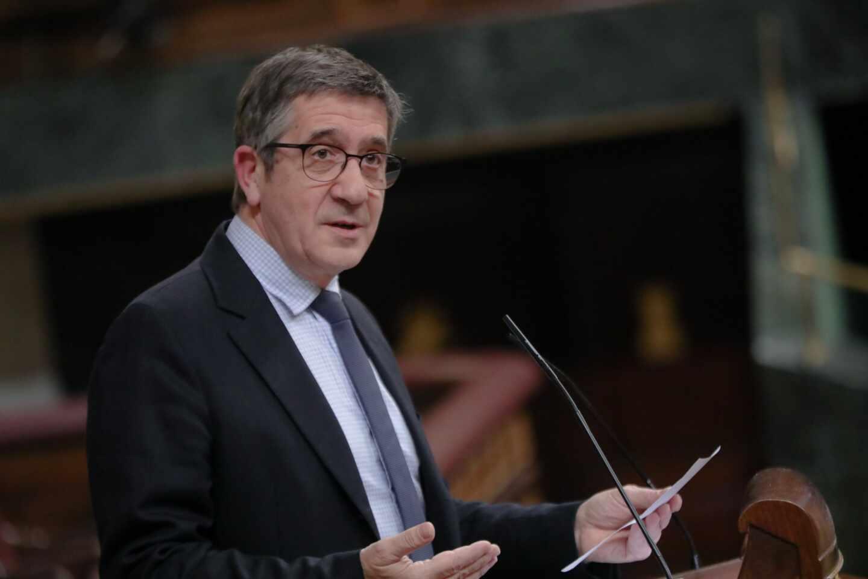 El PSOE propone a Patxi López como presidente de la comisión de reconstrucción