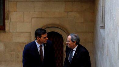 Cinco miembros del Gobierno acompañarán a Sánchez en la mesa de negociación con Torra