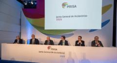 Banco Santander alienta la fusión entre Prisa y Vocento