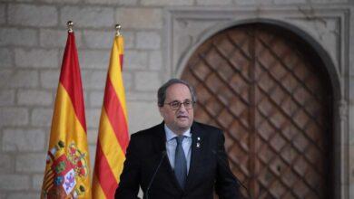 Torra desprecia el documento de Sánchez y solo hablará de autodeterminación