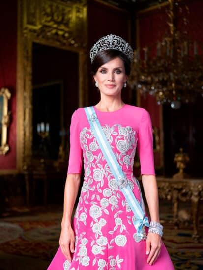 Reina Leticia retrato 2020 de gala