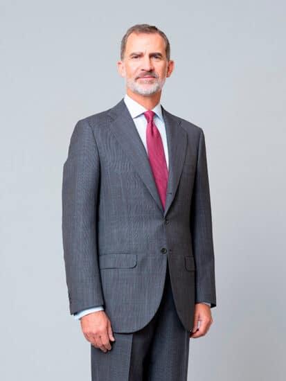 Rey Felipe retrato 2020