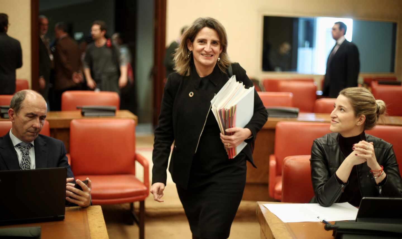La vicepresidente y ministra para la Transición Ecológica, Teresa Ribera.