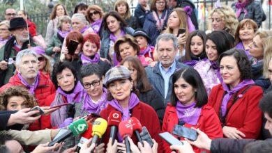 Calvo: La revolución de las mujeres es imparable, pacífica y cargada de justicia
