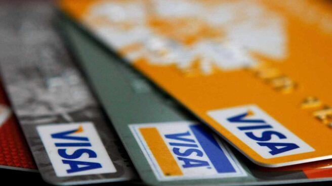 Tarjetas de crédito.