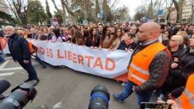 Insultos y victoria: Los 300 metros de Ciudadanos en la manifestación del 8M