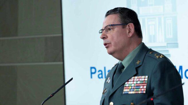 El teniente general Laurentino Ceña, Director Adjunto Operativo (DAO) de la Guardia Civil.