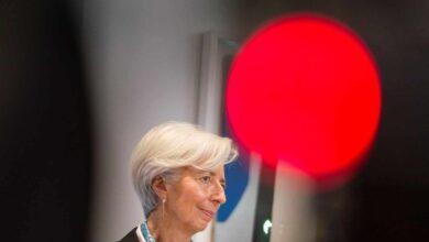 Lagarde alerta de que el coronavirus puede provocar una crisis como la de 2008