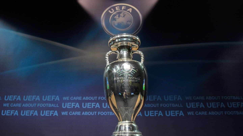 Imagen del trofeo de la Eurocopa