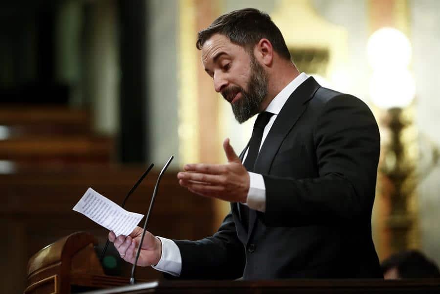 Vox anuncia que presentará una moción de censura contra Pedro Sánchez