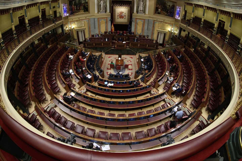 El Congreso de los Diputados, durante un pleno.