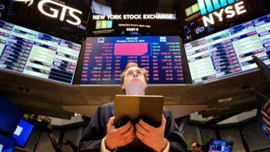 Otro día negro en Wall Street: cotización suspendida ante más pérdidas por el coronavirus