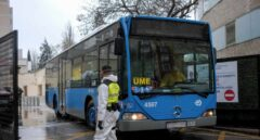 Autobuses de la EMT trasladan pacientes entre hospitales e IFEMA