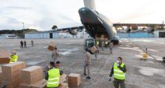 Las compañías se vuelcan: el 'puente aéreo' de Airbus, las mascarillas de Inditex, las ropas de cama de Ikea...