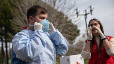Cruz Roja se prepara para intervenir durante la crisis del coronavirus SARS-CoV-2