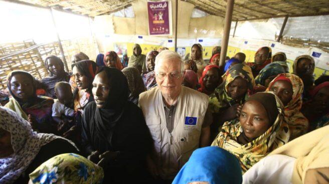 Borrell en Darfur