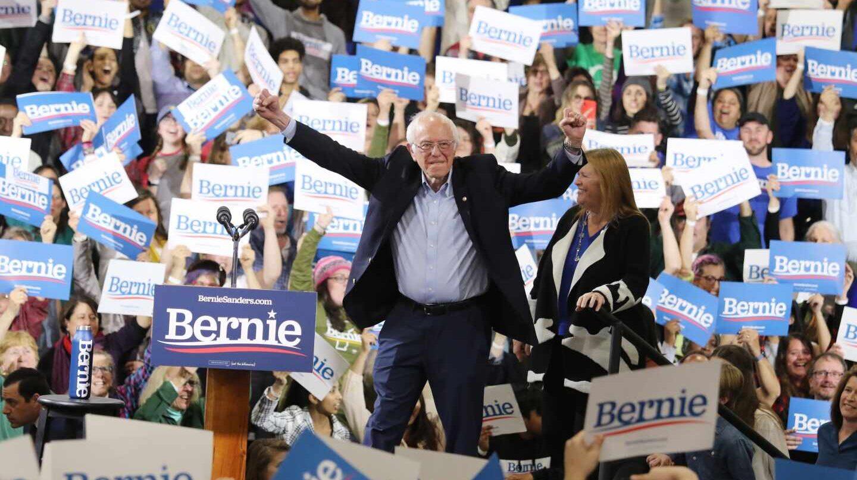 Bernie Sanders después del SuperMartes