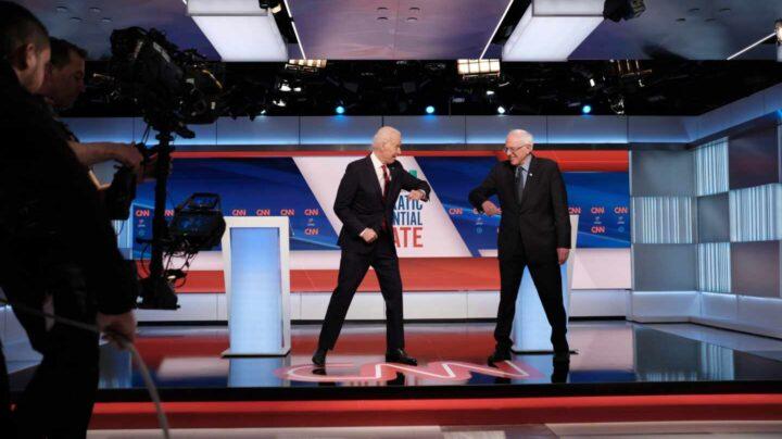 Biden Sanders debate electoral