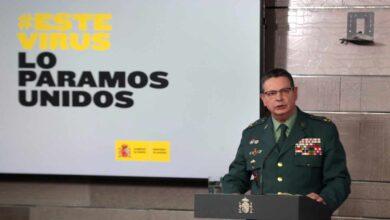 El covid-19 retrasará el retiro de Ceña, la 'cara' de la Guardia Civil en el comité técnico