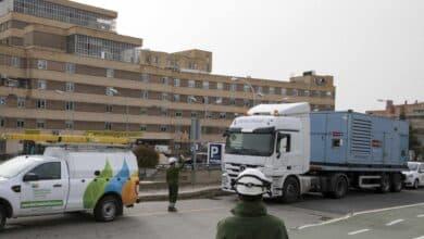 Las eléctricas se movilizan para garantizar el suministro de luz a todos los hospitales