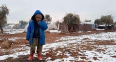 Nieva bajo las bombas en Siria