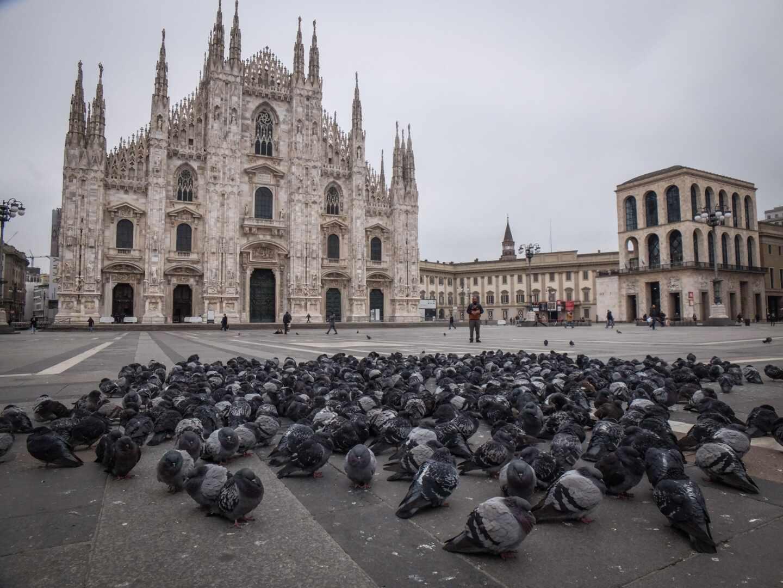 Milán coronavirus