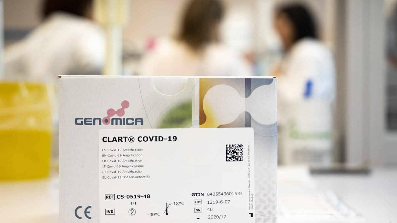El kit de la prueba del coronavirus ha sido desarrollado en el laboratorio de Genomica en Madrid